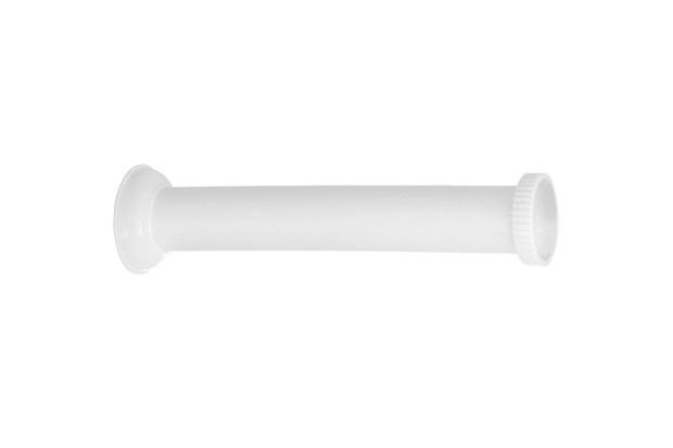 Tubo de Ligação para Vaso Sanitário 11/2x23cm Branco - Esteves