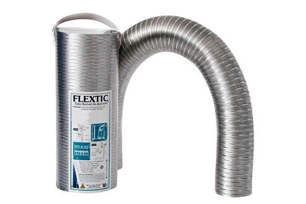 Tubo Flexível para Exaustão Flextic de 90mm com 37cm - Westaflex