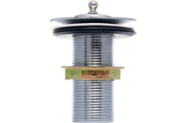 Válvula para Lavatório sem Ladrão Cromado - Esteves