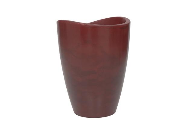 Vaso em Polietileno Alto Copacabana 40x54cm Antique Vermelho - Vasart