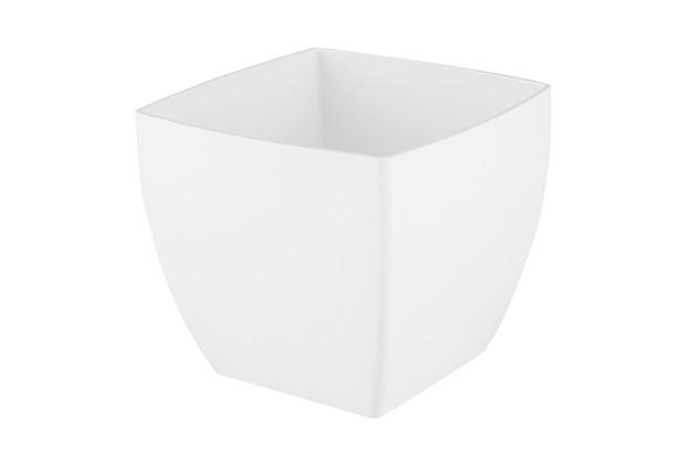 Vaso em Polipropileno Siena 20x18cm Branco - Brilia
