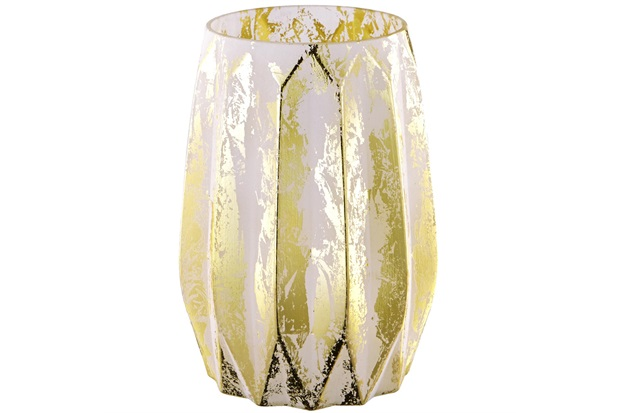 Vaso em Vidro 20x15cm Nude - Mart