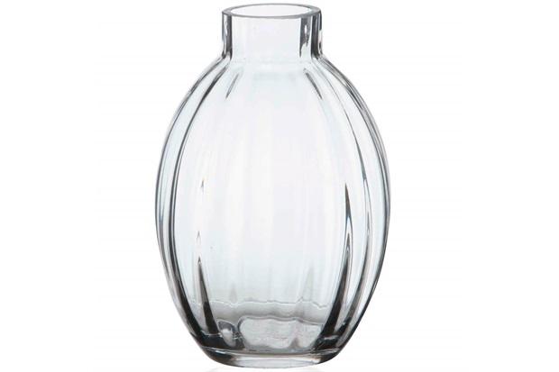 Vaso em Vidro Abode Transparente 15cm - Casa Etna