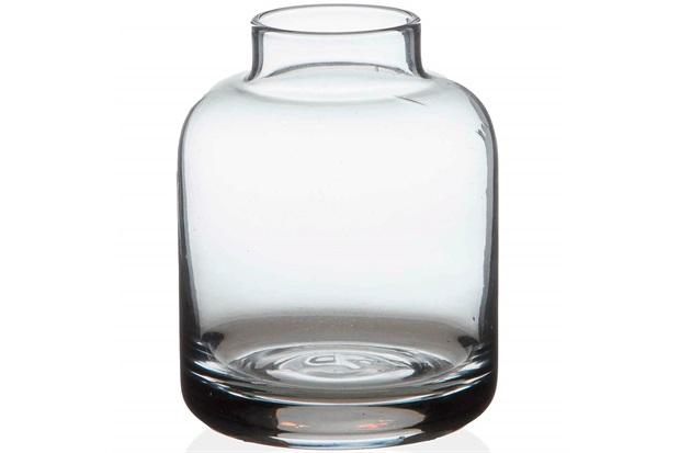 Vaso em Vidro Valencia Transparente 8cm - Casa Etna