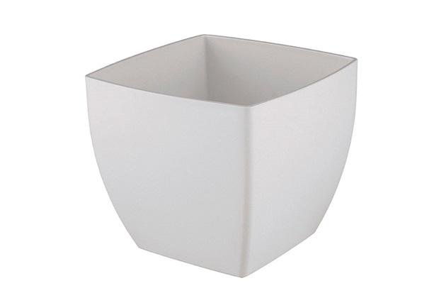 Vaso Siena 14cm Branco - Vasart