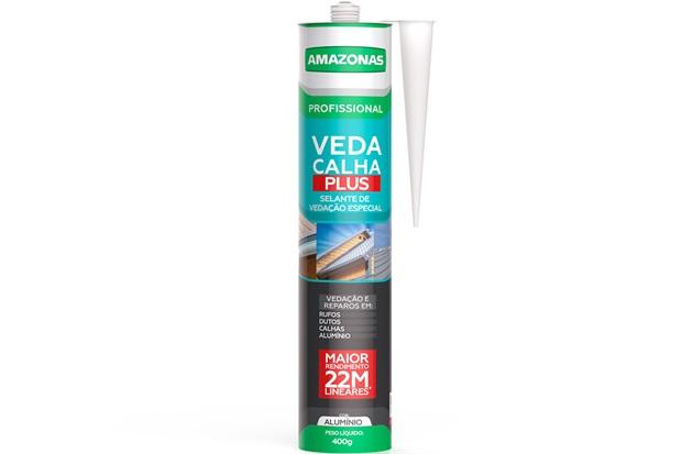 Veda Calha Plus 400g Cinza - Amazonas