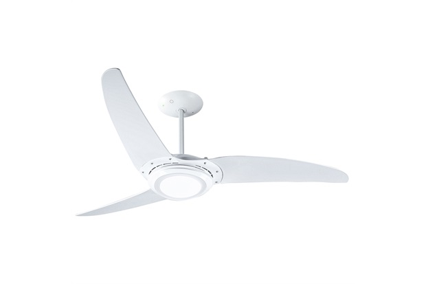 Ventilador de Teto 110v Wind 303 Led com 3 Pás E Repelente de Mosquito Branco - Spirit