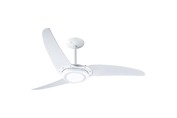 Ventilador de Teto 220v Wind 303 Led com 3 Pás E Repelente de Mosquito Branco - Spirit