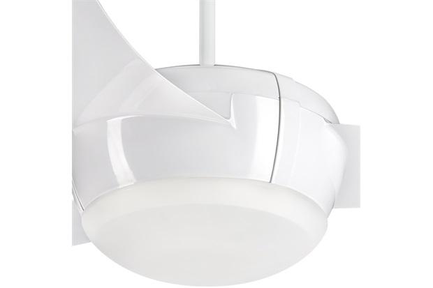 Ventilador de Teto com Luminária Led 130w 110v Vortice com 3 Pás Branco - Ventisol