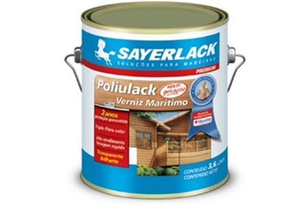 Verniz Acetinado Poliulack Fosco 900ml - Sayerlack