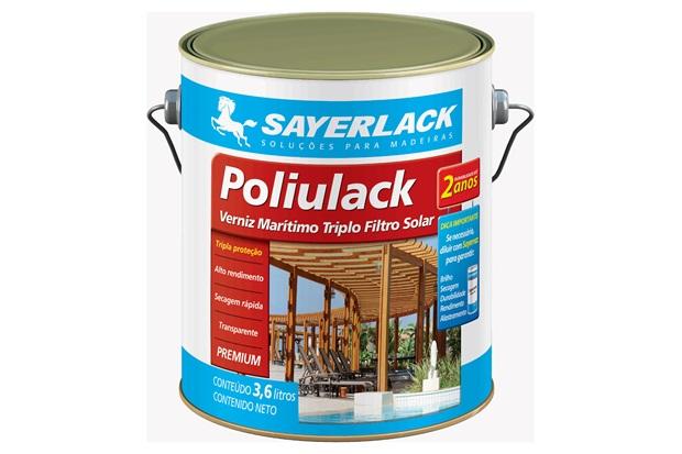 Verniz Acetinado Poliulack Incolor 3,6 Litros - Sayerlack