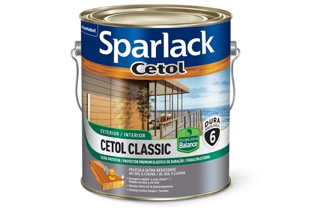 Verniz Brilhante Base Água Cetol Classic Canela 3,6 Litros - Sparlack