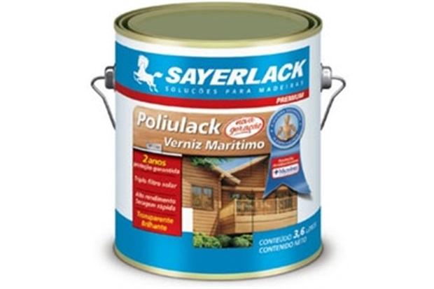 Verniz Brilhante Poliulack Transparente 900ml - Sayerlack