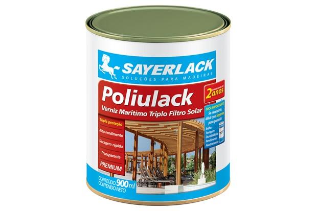 Verniz Poliulack Brilhante 900ml - Sayerlack