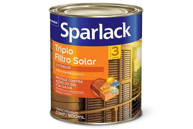 Verniz Premium Acetinado Duplo Filtro Solar Natural 900ml - Sparlack