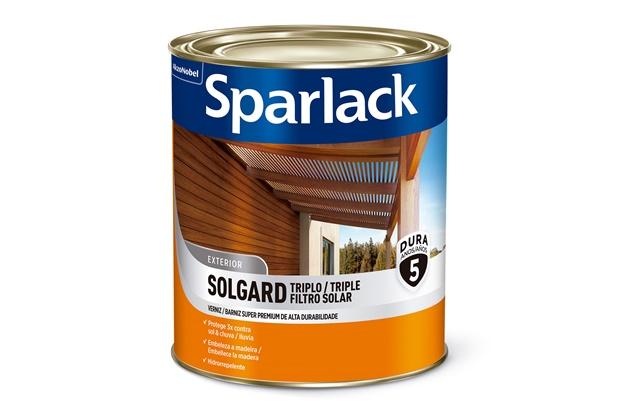 Verniz Premium Brilhante Duplo Filtro Solar Natural 900ml - Sparlack