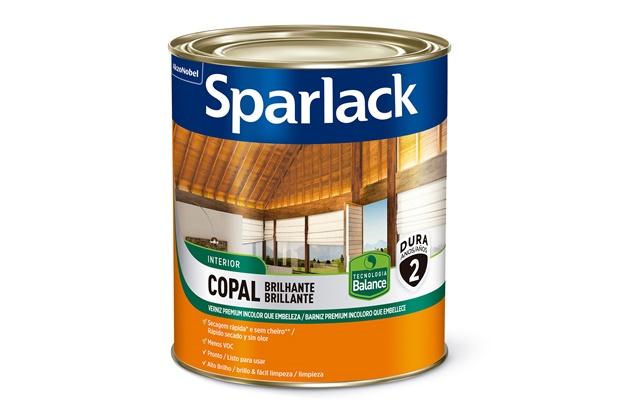 Verniz Premium Copal Brilhante Transparente 225ml - Sparlack