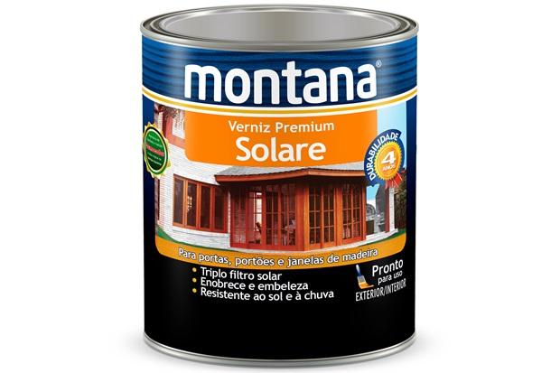 Verniz Solare Imbuia Brilhante 900ml - Montana