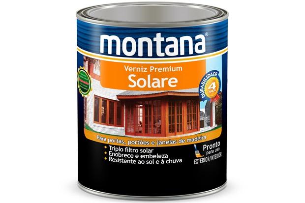 Verniz Solare Mogno Brilhante 900ml - Montana
