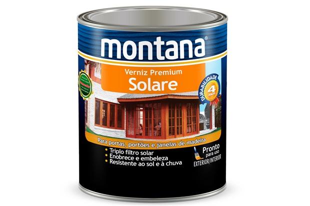 Verniz Solare Natural Acetinado 900ml - Montana