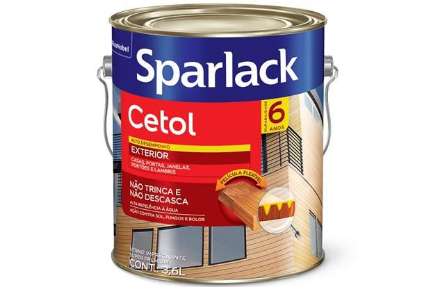 Verniz Sparlack Cetol Acetinado Mogno 3,6 Litros - Sparlack