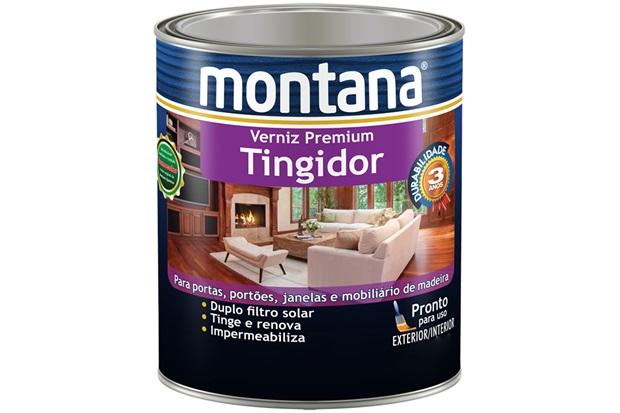 Verniz Tingidor Imbuia Brilhante 900ml - Montana