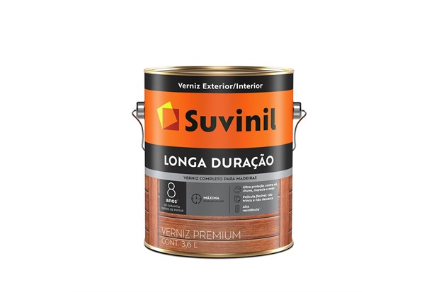 Verniz Ultra Proteção Mogno 3,6 Litros - Suvinil