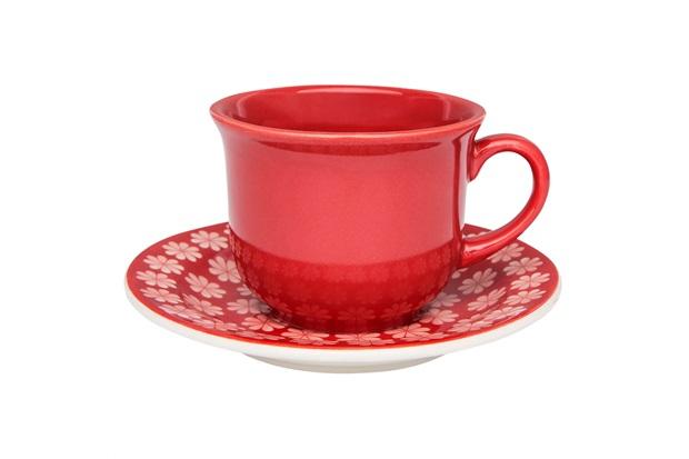 Xícara de Chá com Pires 200ml - Oxford